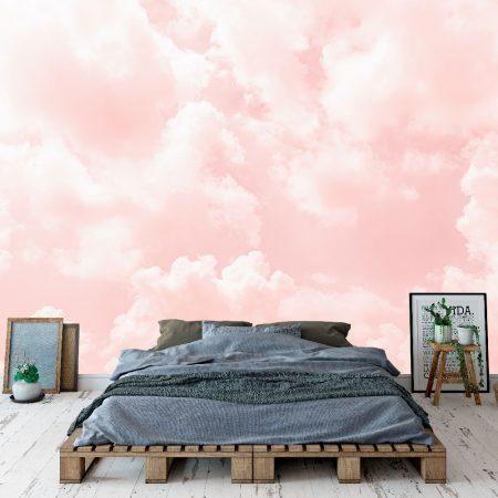 Фототапет Розови облачета